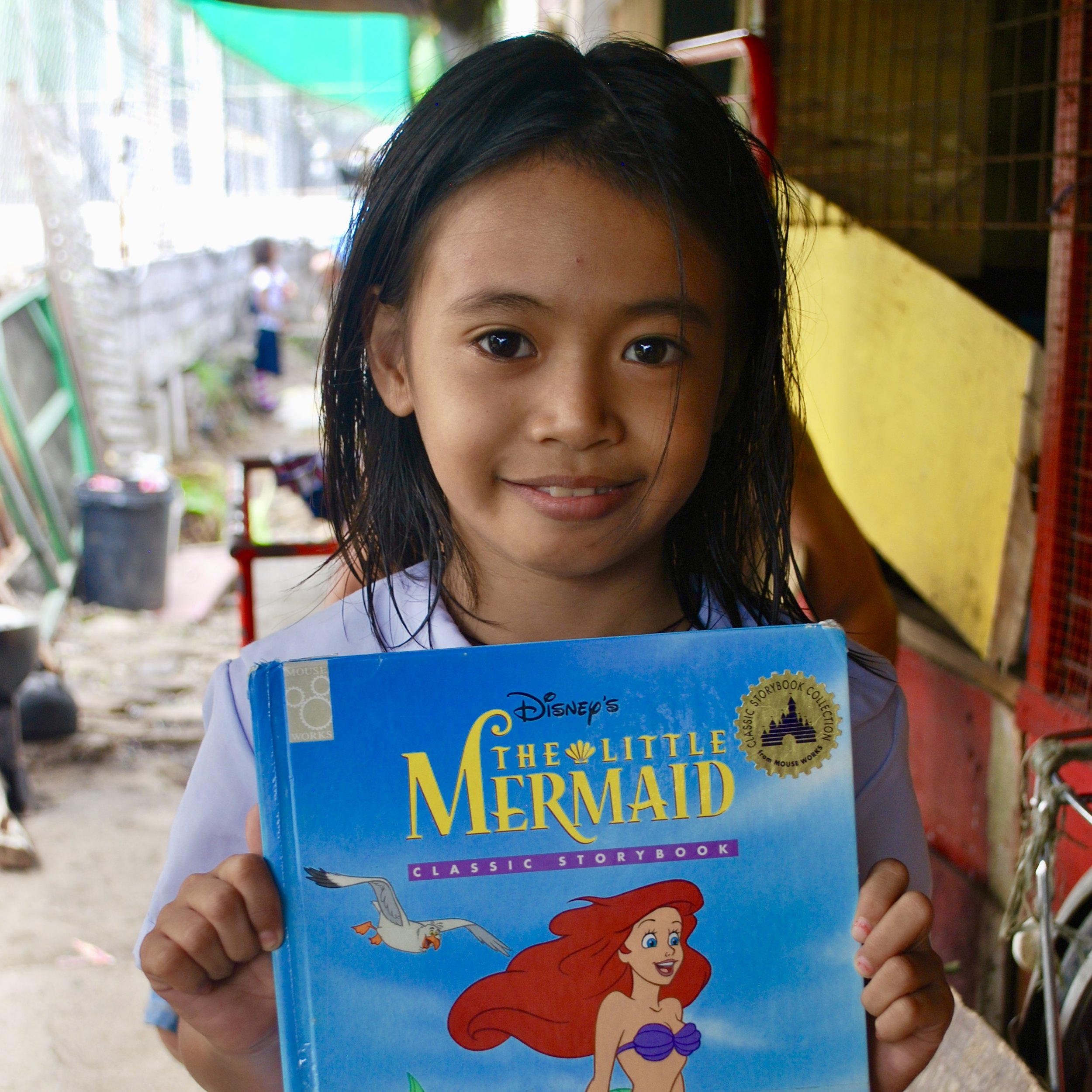 Read Along - We are a big supporter of learning through reading among the children of our community and as such we accept books for them to explore new adventures.
