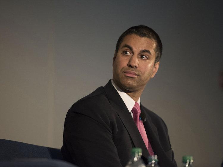 FCC Chairman Ajit Pai. Photo: NPR.