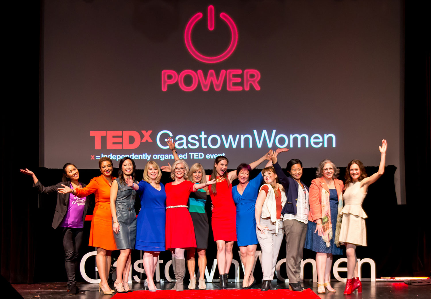 TEDxGastownWomen 2016 speakers and performers. (Suzanne Rushton Photography)