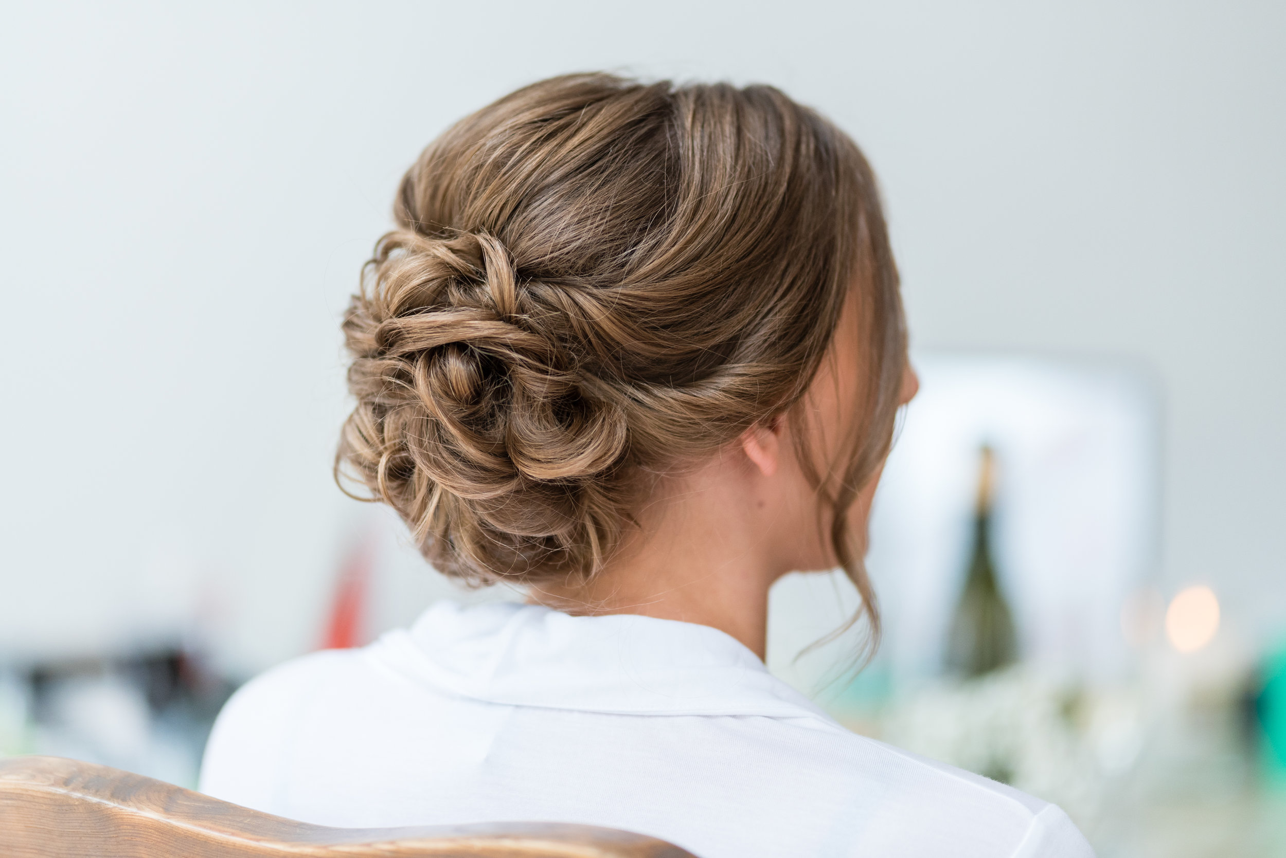 Bridal hair up Surrey