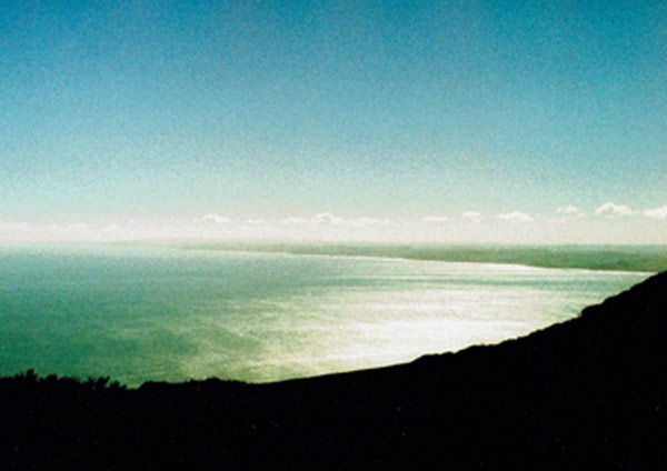 View North from Karioi   Mount Karioi, Raglan, New Zealand taken circa 2005 ANALOG FILM   Limited edition of 7 _    420 x 600mm (A2), white framed piece available.   Available in a range of sizes and frame colour options- please   enquire  .
