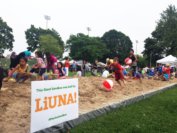 2015 Pan Am Parapan Am Giant Sandbox
