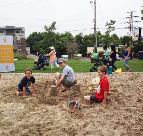 Sandbox Project - 2015 Pan Am Parapan Am Giant Sandbox