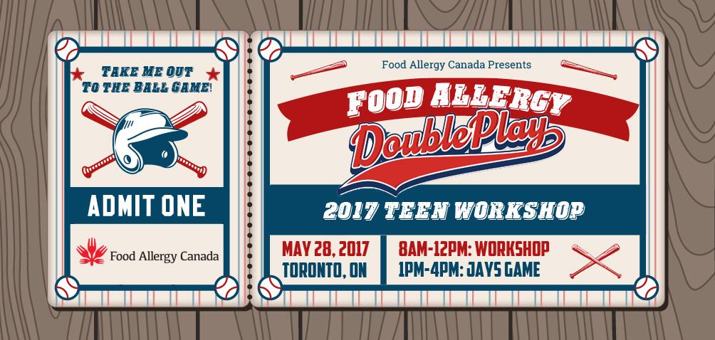 Food Allergy - Double Play - Grand Slam - 2017 Teen Workshop