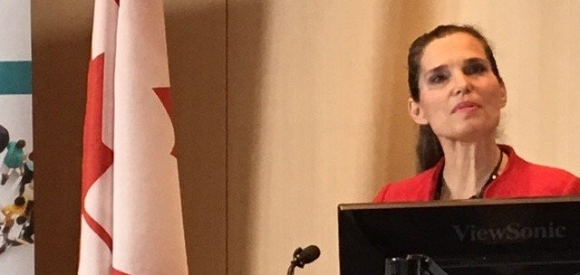 Science Minister Kirsty Duncan announces the Genome Canada funding