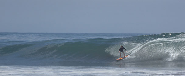 Jack on a fun one, Punta Roca