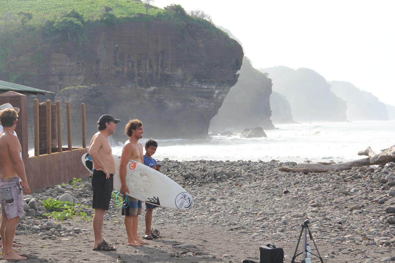 Pro surfer Timmy Reyes at Mizata