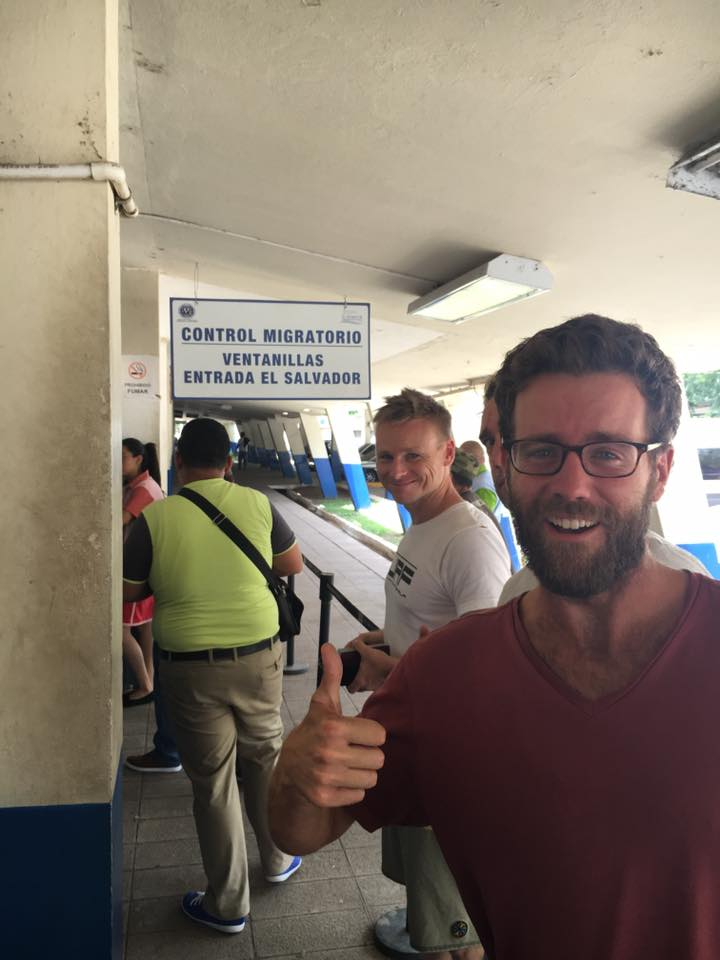 Crossing the border - Guatemala to El Salvador
