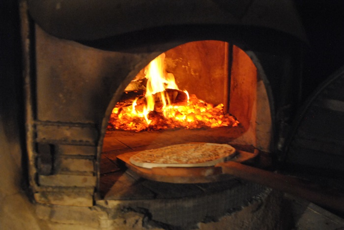 Woodfired pizzas!