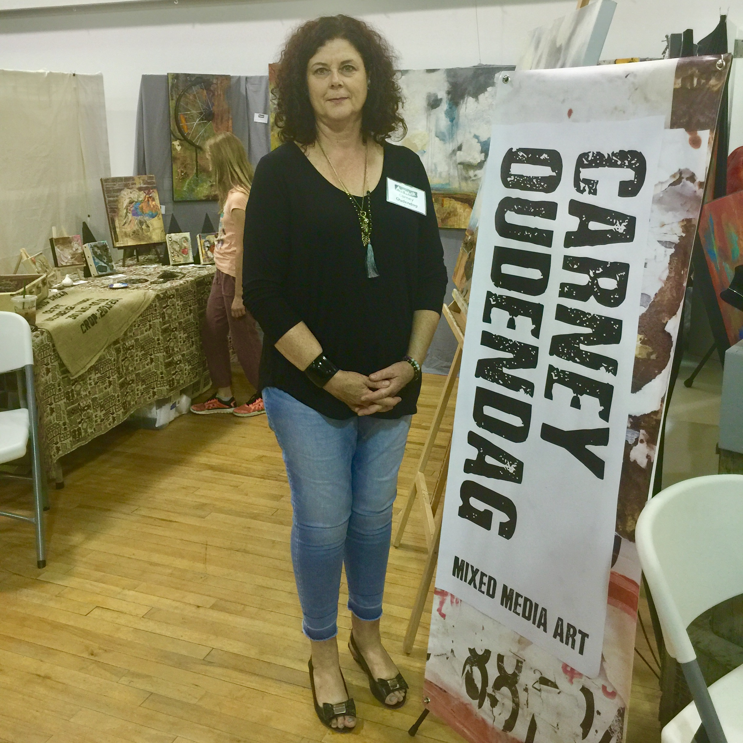 I had a great time at the Lake Country ArtWalk!