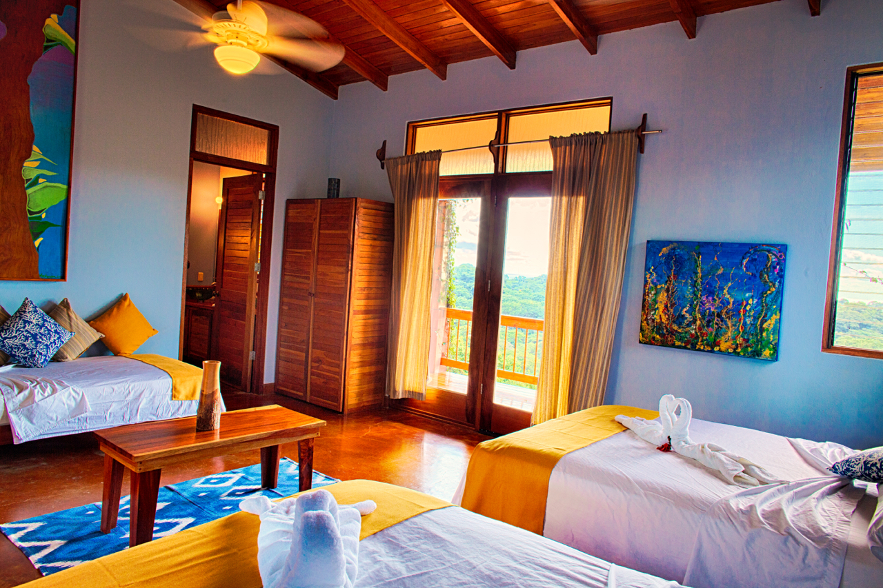Private Suite (single, double, or triple occupancy)