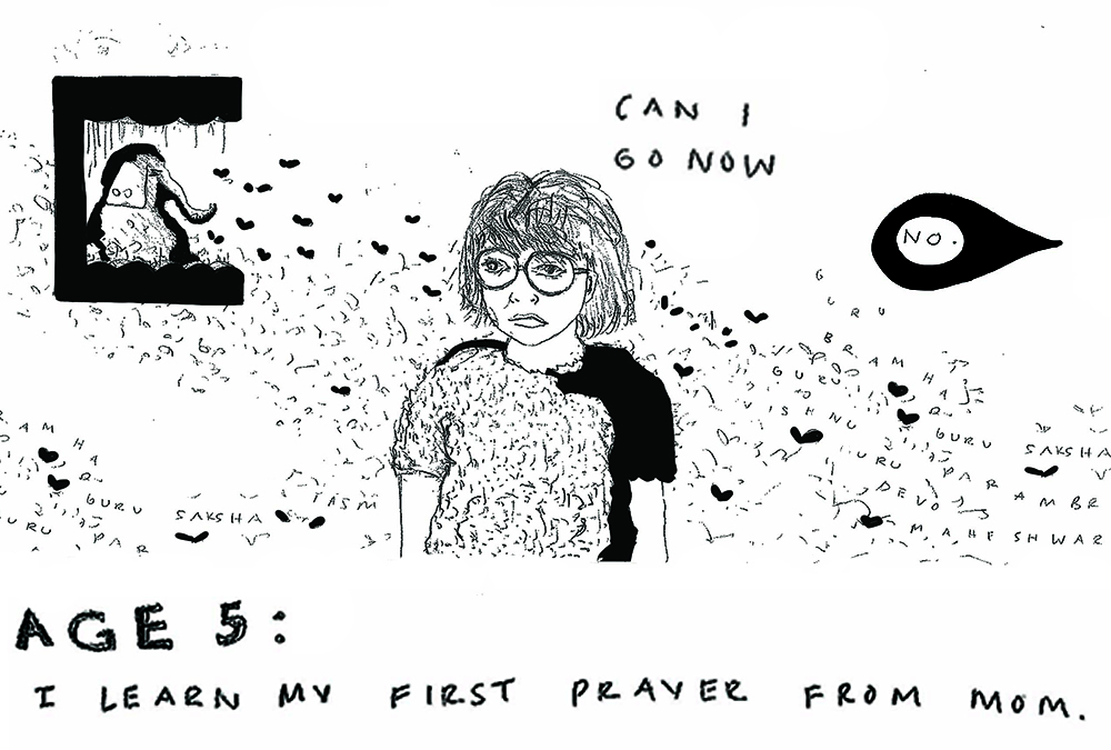 Age 5 page, click  HERE  for full comic.
