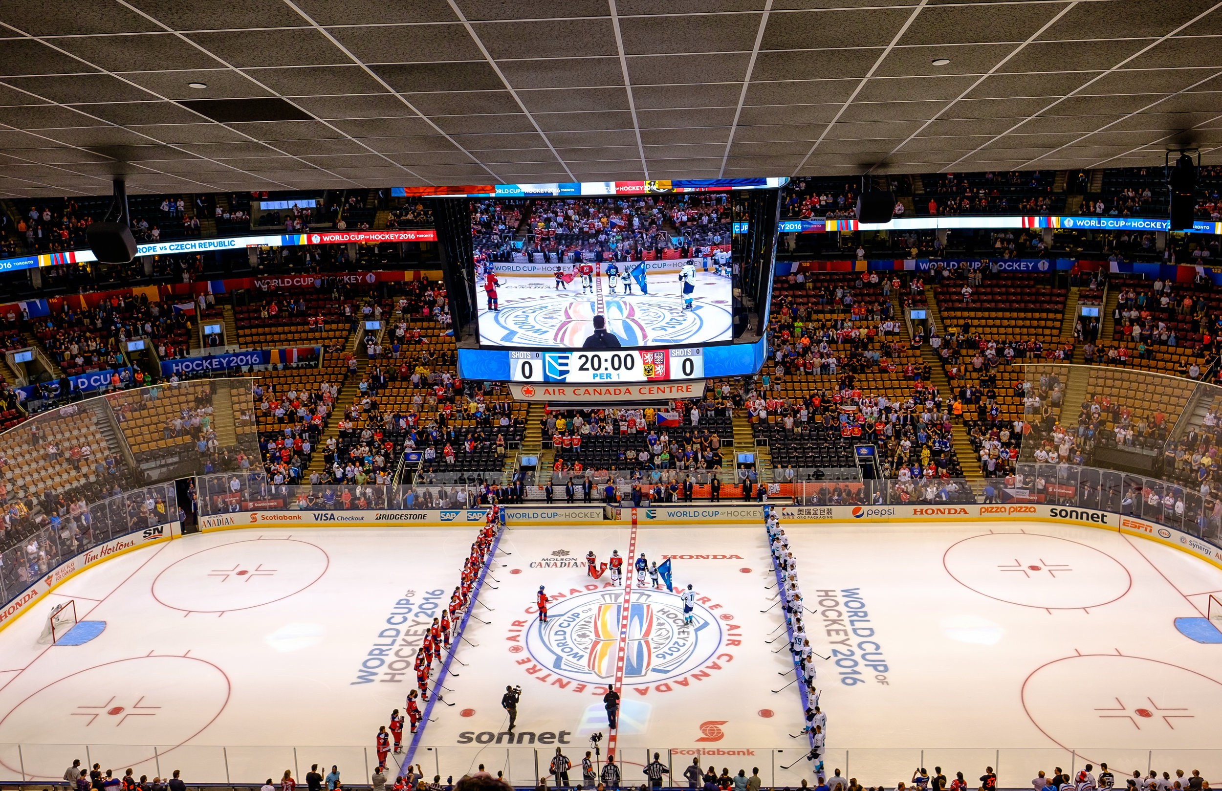 Air Canada Centre - Hockey World Cup CZE vs EUR