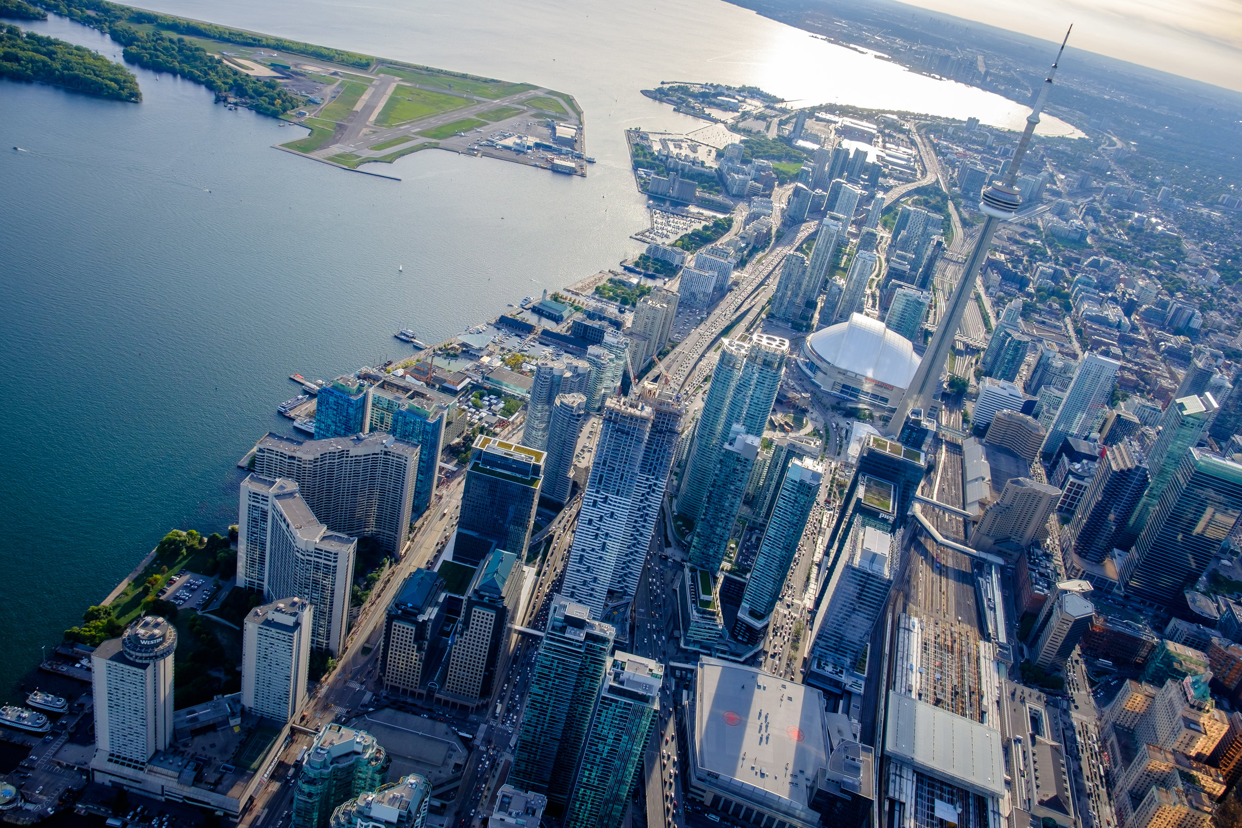Toronto from Heli