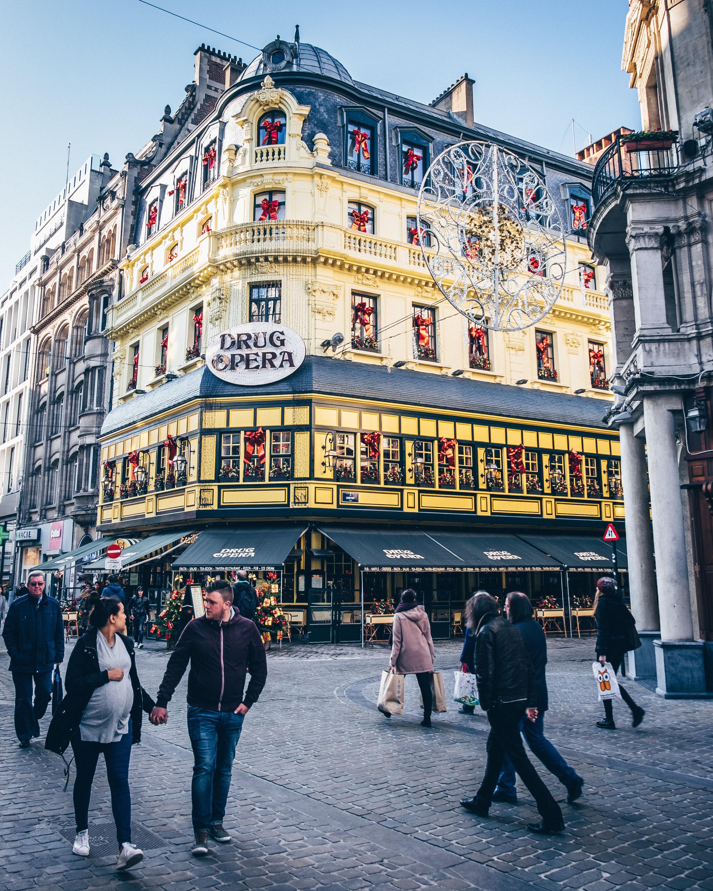 Drug Opera, Brussels