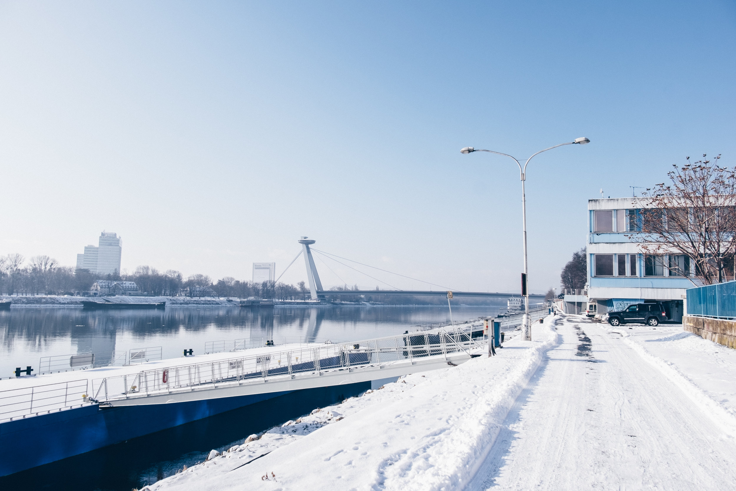 Danube river port