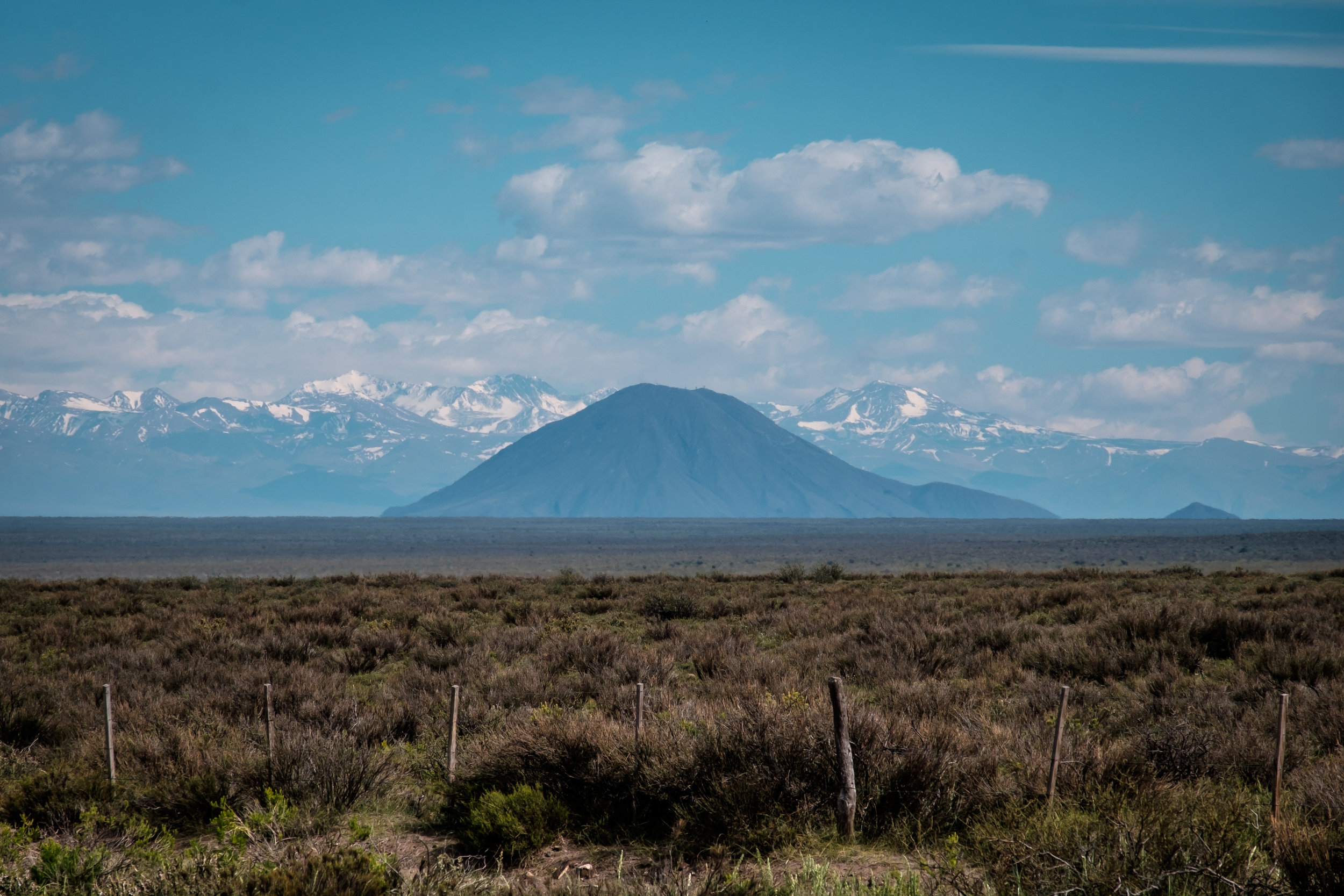 Chile in distance