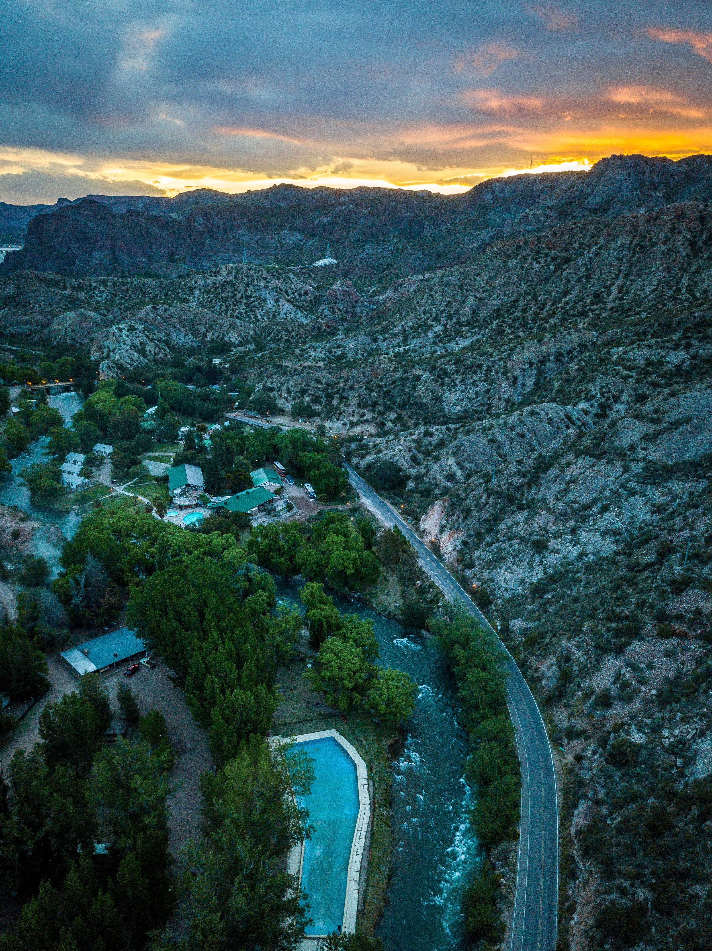 Valle Grande, Atuel River