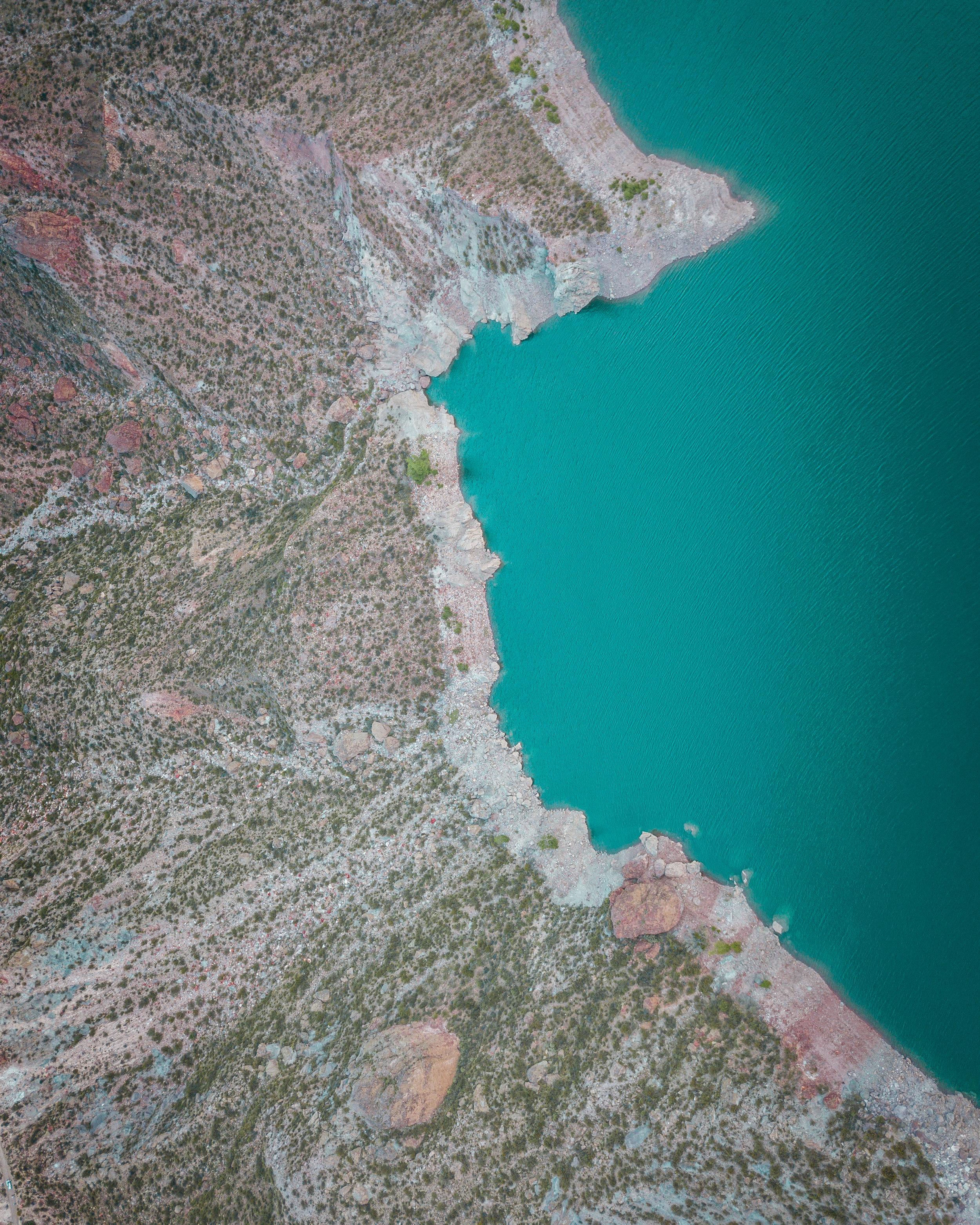 Valle Grande, El Nihuil Dam