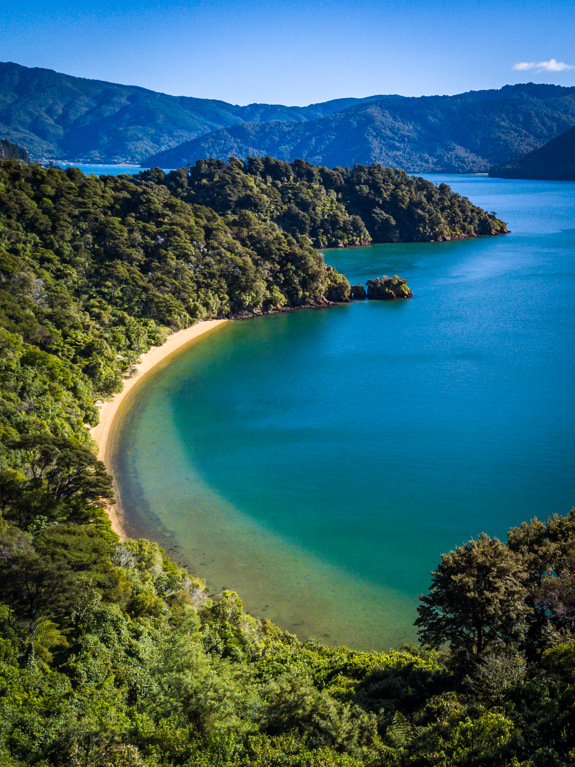 Cullen Point - Marlborough Sounds, New Zealand
