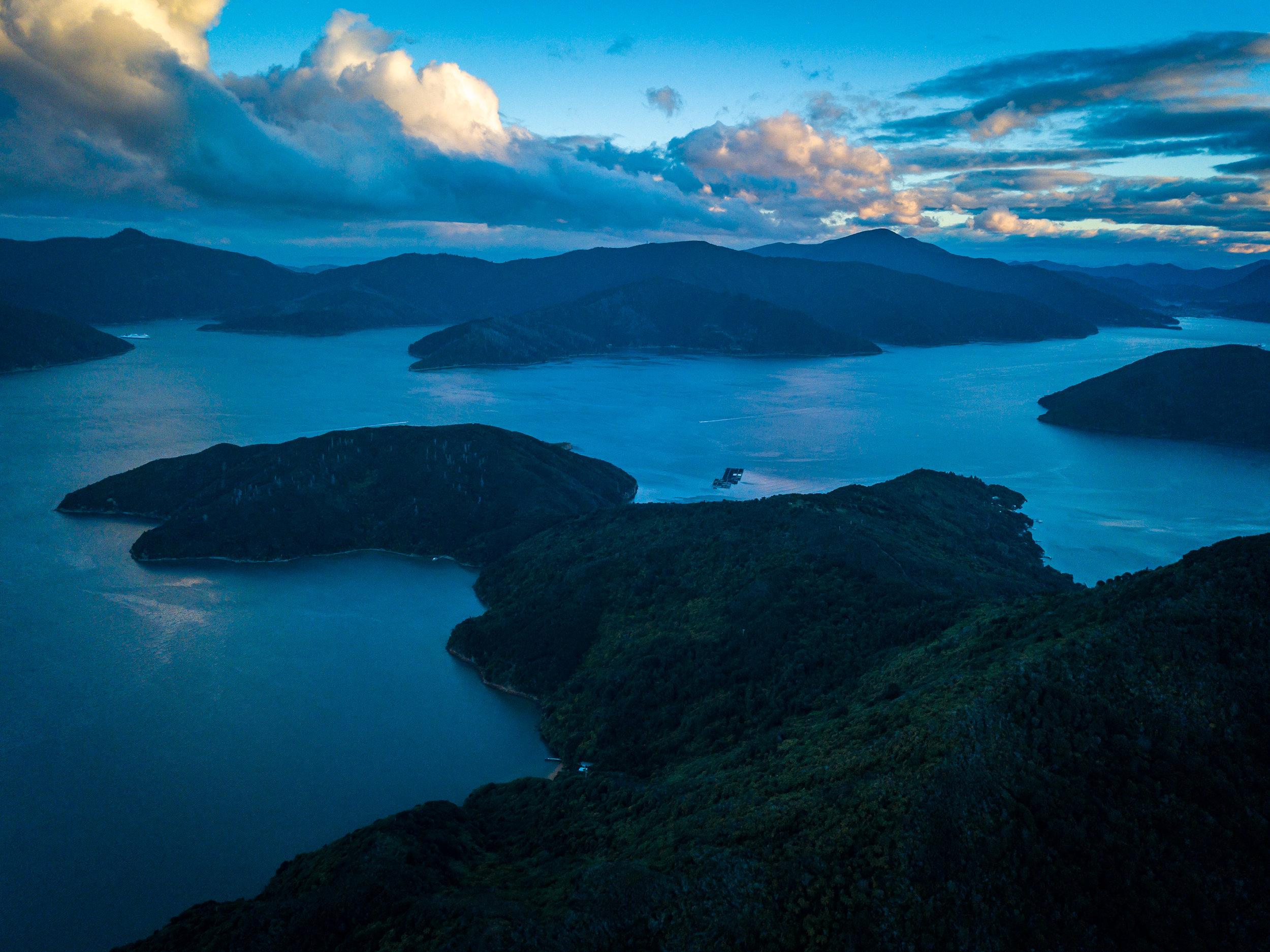 Bay of Many Coves - Marlborough Sounds, New Zealand