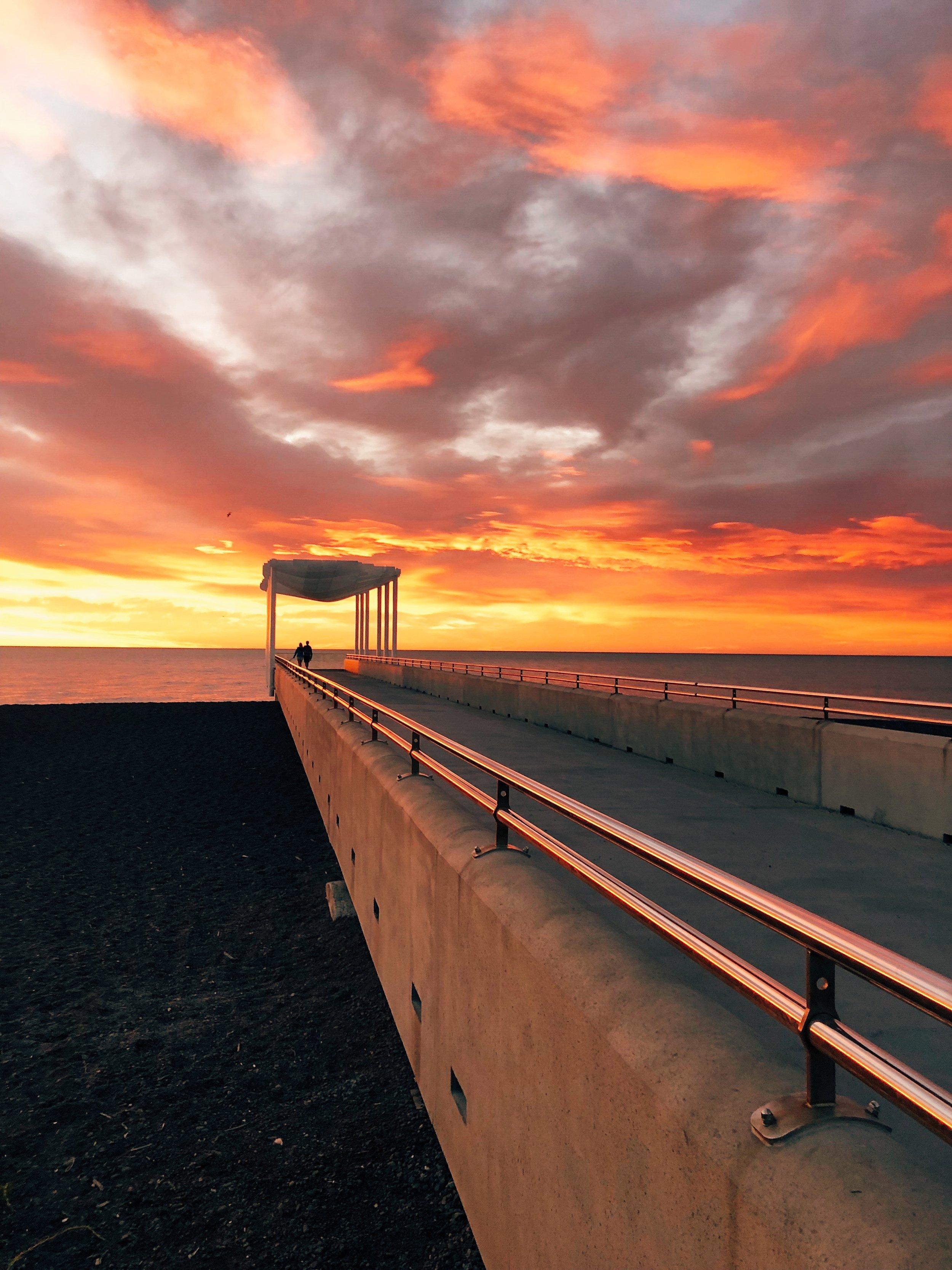 Sunrise Napier Pier