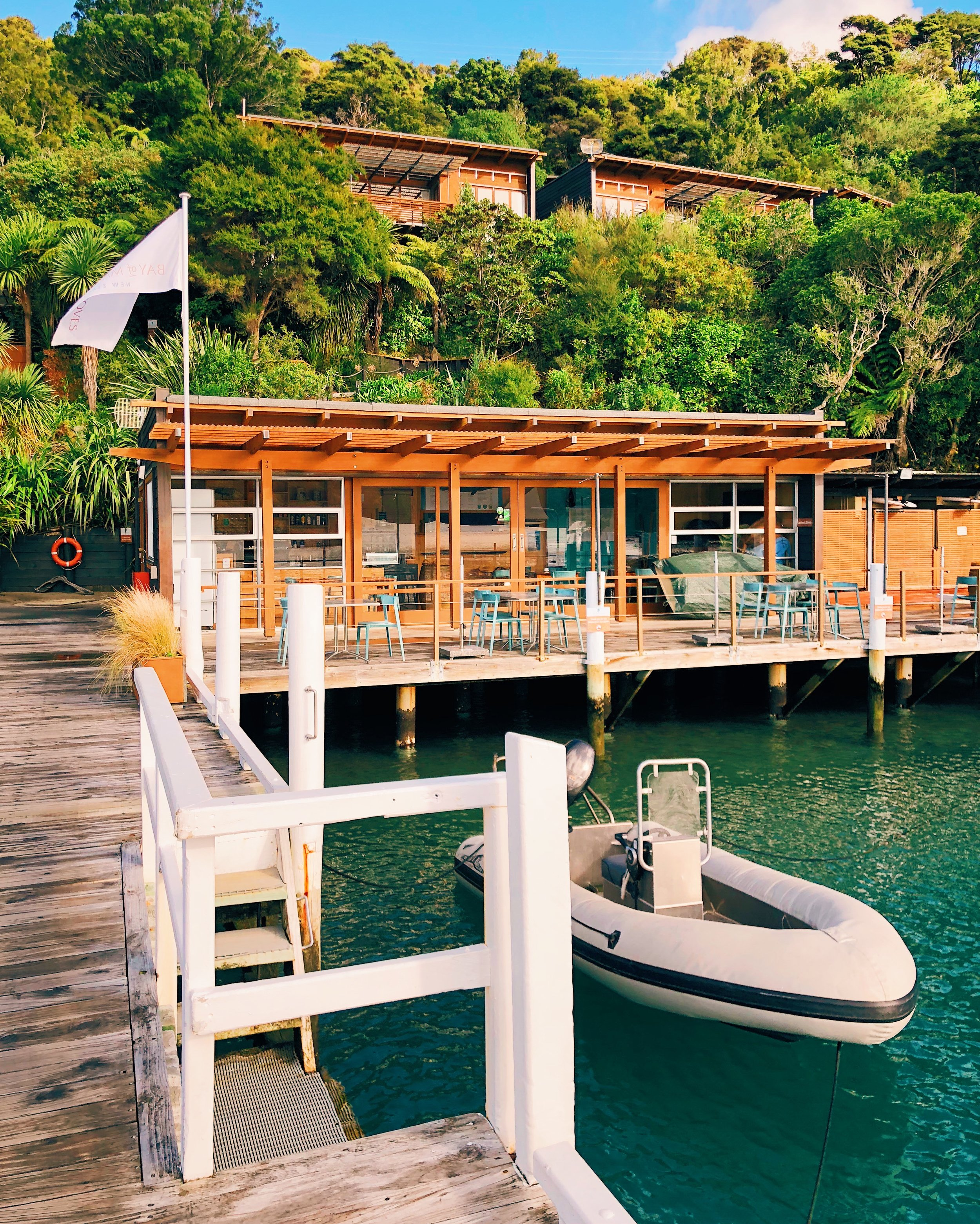 Bay of many Coves Resort pier