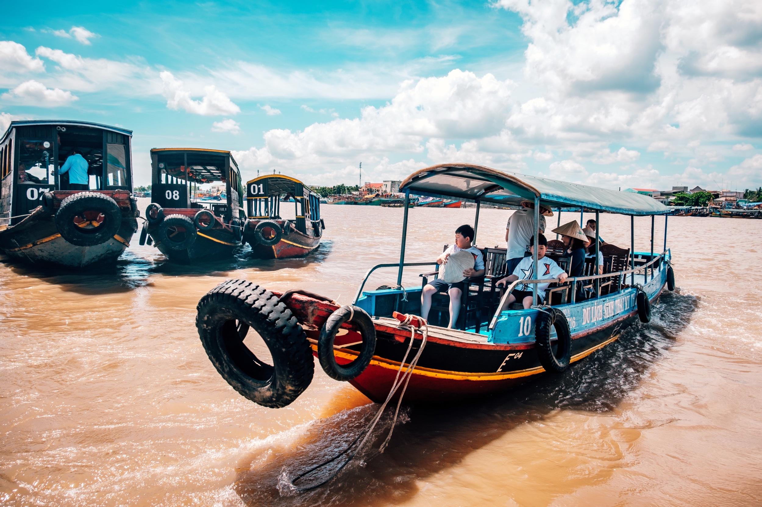 Mekong Delta Tour boats