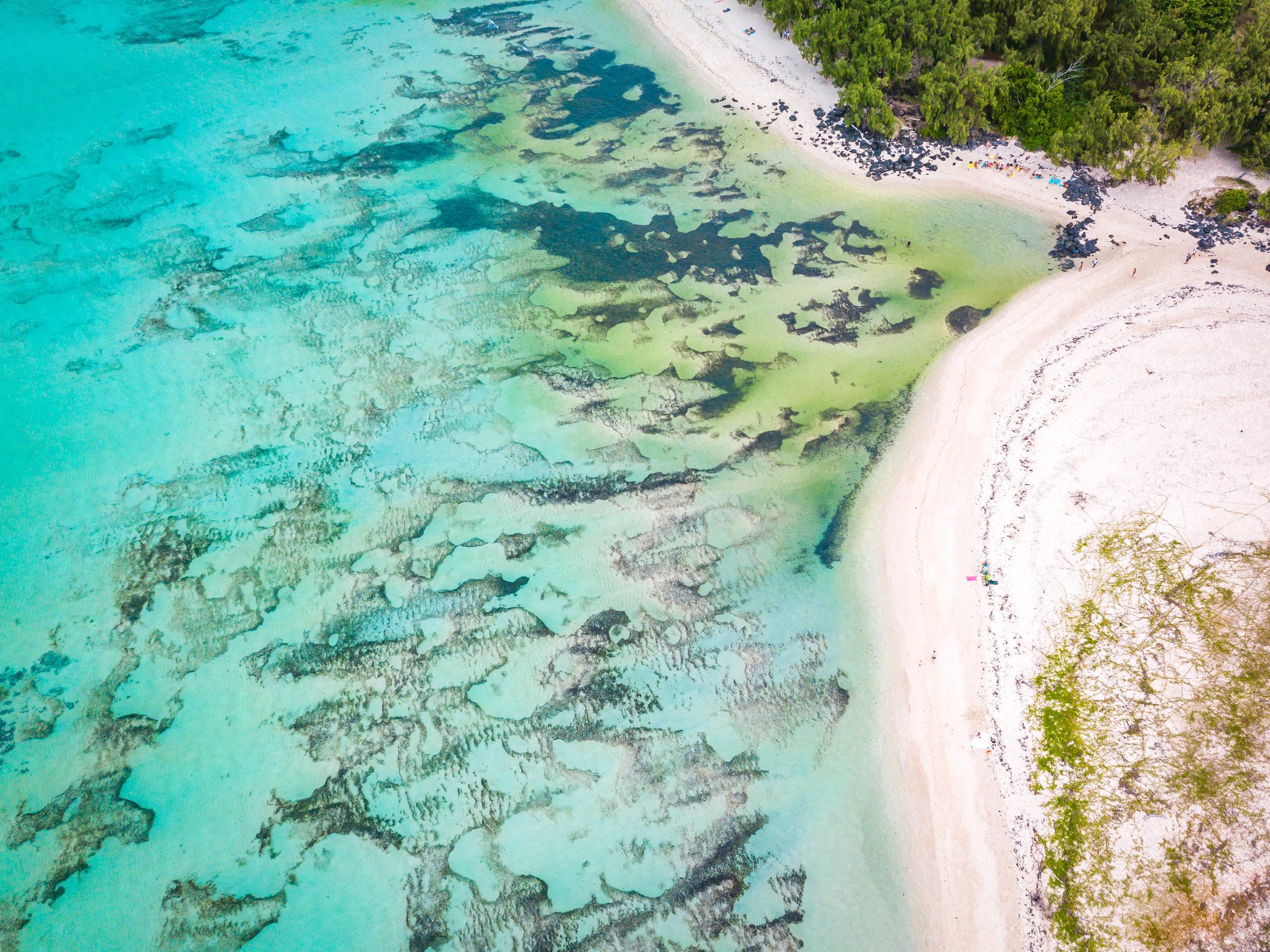 Ile Aux Cerfs - Mauritius Lagoon
