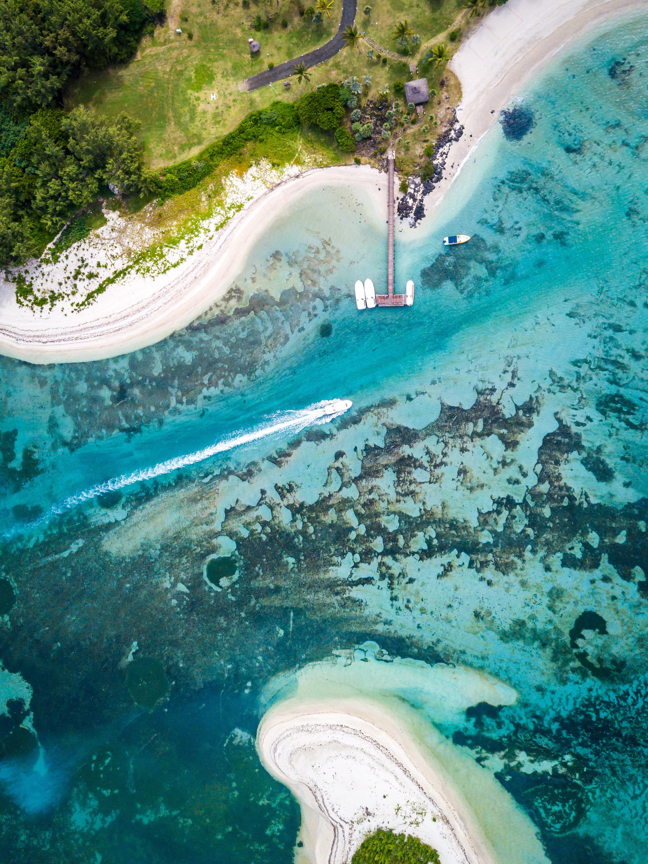 Blue Lagoon - Ile Aux Cerfs, Mauritius