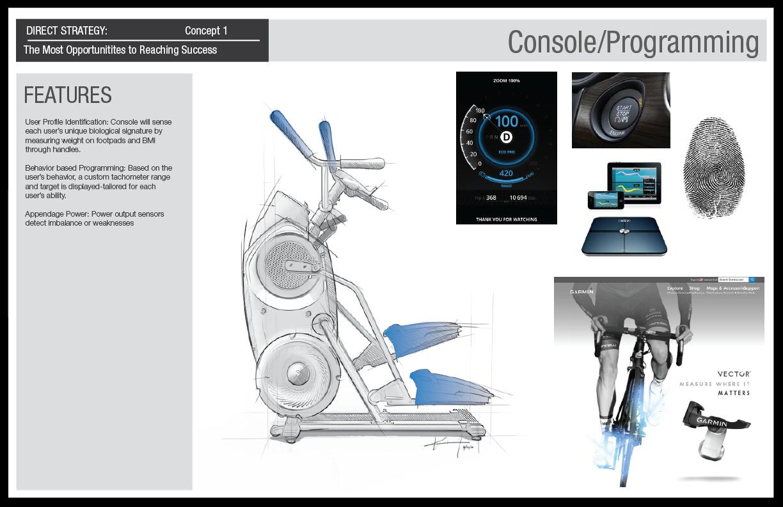 Concept 1: Console Design