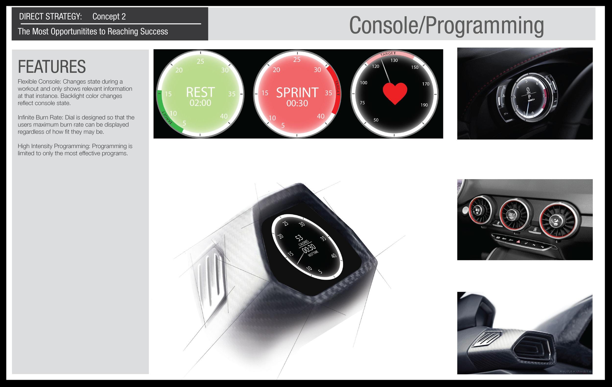 Concept 2: Console Design