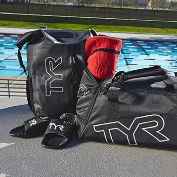 Full line of TYR items for your team