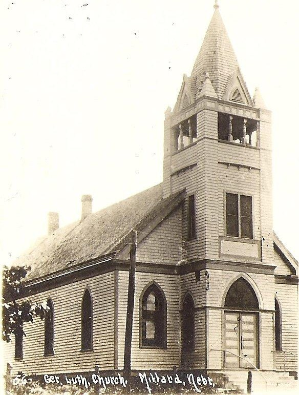 St. Paul's Lutheran Church in 1887