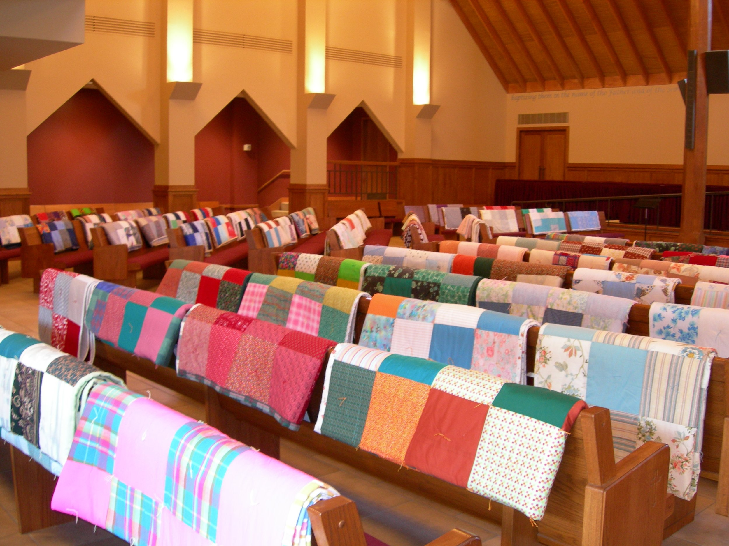 Annual Dedication of Mission Quilts