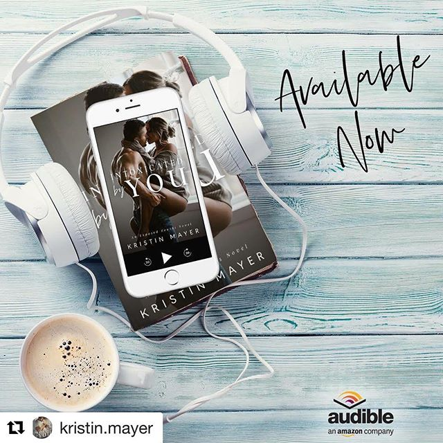 #repost @kristin.mayer ・・・ ***The Audiobook for Intoxicated By You is live from Audible*** If you've been waiting for Drake and Alexa's story to come to audiobook in this second chance romance, today is the day!  Link: https://amzn.to/2CB8sAV (In comments as well)  He'd been mine—until I made the biggest mistake of my life.  I thought if I put enough time and distance between us, my heart could forget him.  I thought wrong.  Drake Foster owns my heart, my entire being. He always will.  As the pieces of what happened to us begin to fall into place, I realize our relationship had been sabotaged.  We'd been pawns in a game neither of us knew we were playing, and our relationship was the price we paid.  Now, we must find our way together before it's too late.