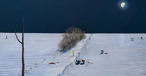 William Kurelek, Home on the Range (1967)