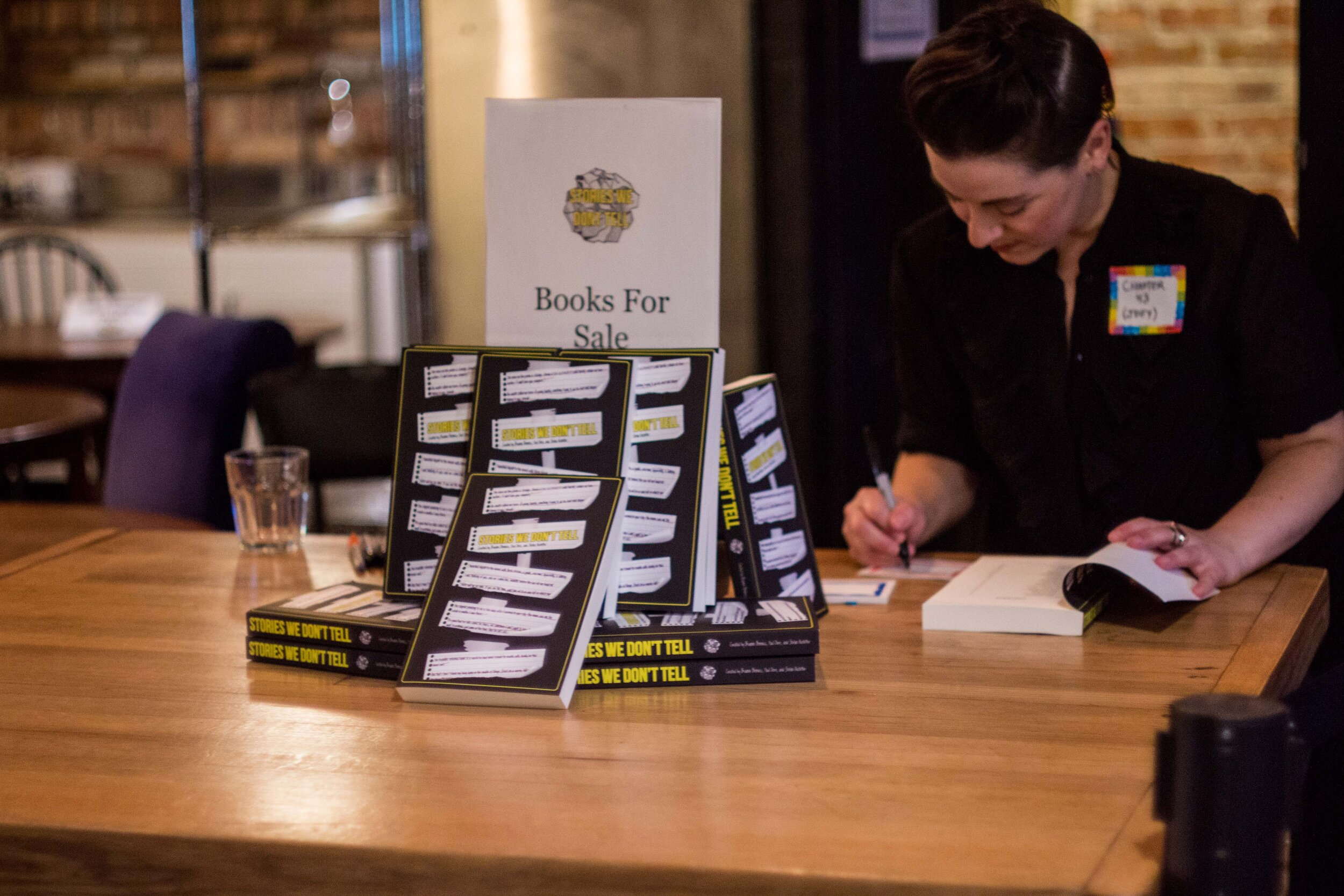Stories We Don't Tell | Book Launch