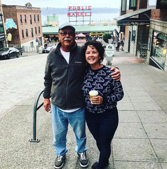 Dad & Renee in Seattle – 2018