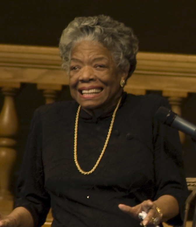 Maya Angelou | Image by kyle tsui from Washington, DC, USA [CC BY 2.0    https://creativecommons.org/licenses/by/2.0   ]