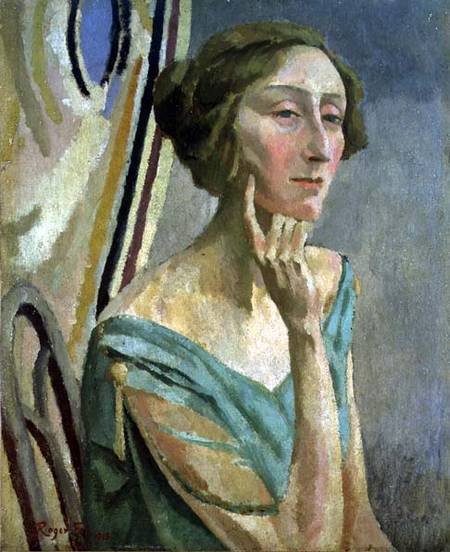 Portrait of Edith Sitwell by Roger Fry (Public Domain)