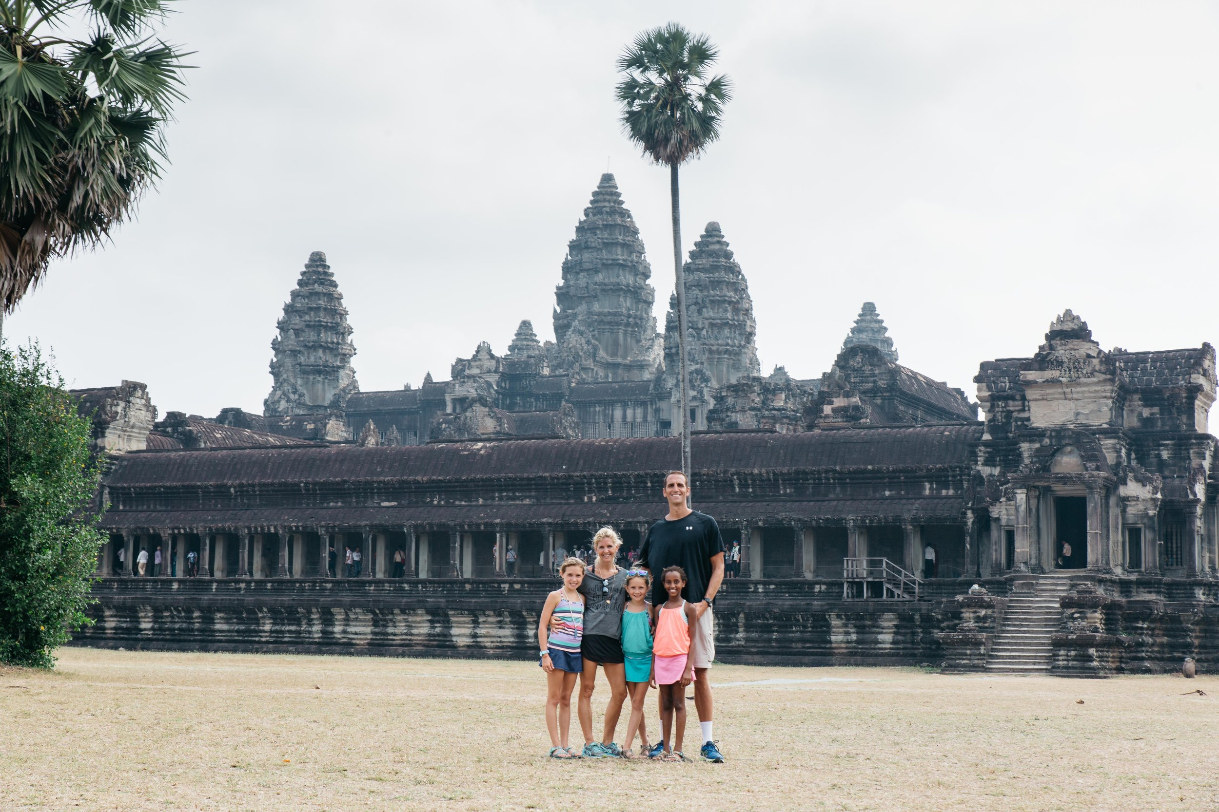 Off to explore Angkor Wat, the 8th wonder of the world in Siem Reap, Cambodia. It only took 37 years, more than 1,000,000 workers, and 4,000 elephants to complete this masterpiece.