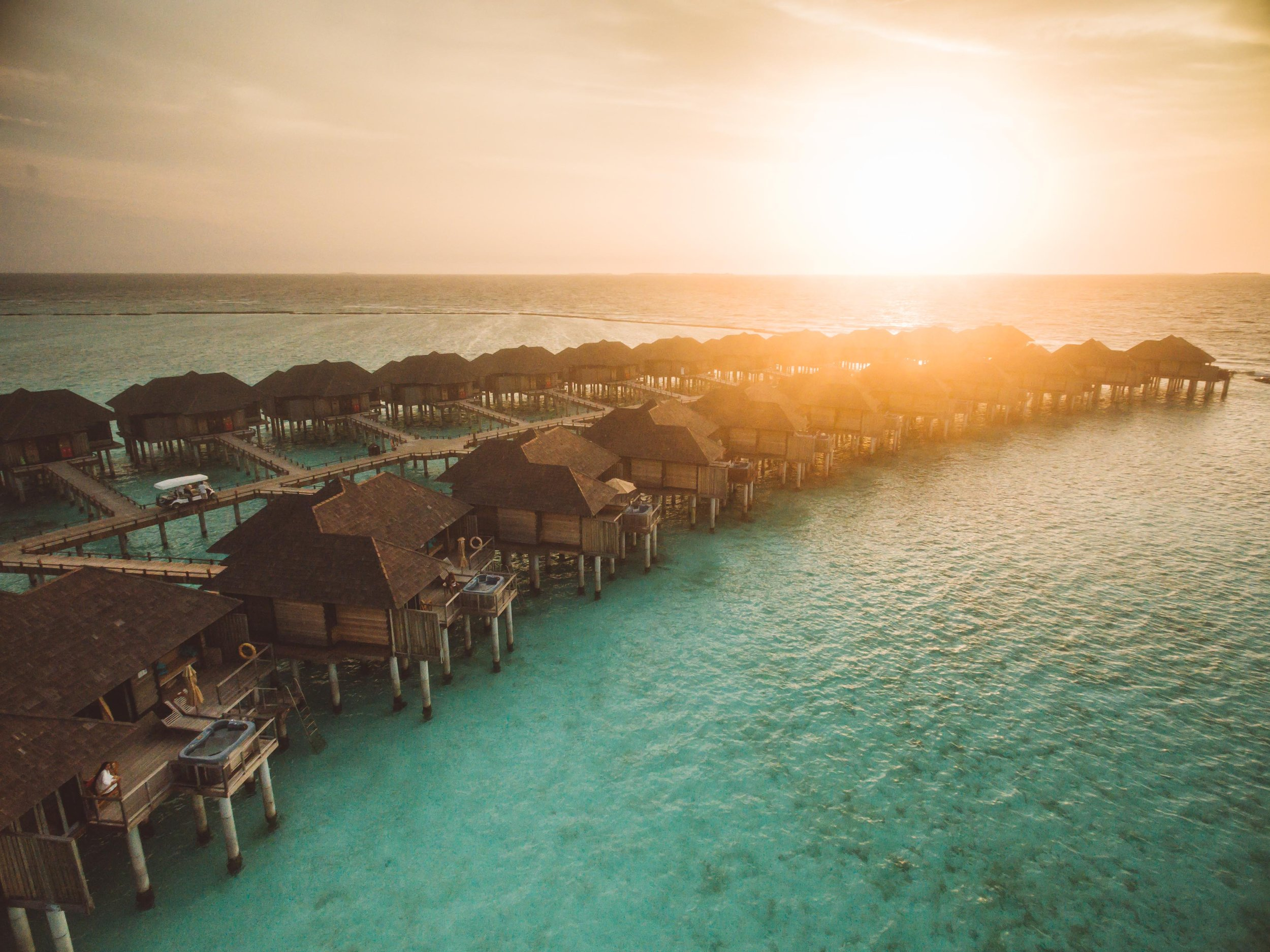 We found Paradise. The Maldives is certainly all that it is built up to be.....and maybe more. Taking in this beautiful sunset at the Sun Siyam Hotel and Resort, where we wrapped up this amazing year of travel with 5 days of fun in the sun!