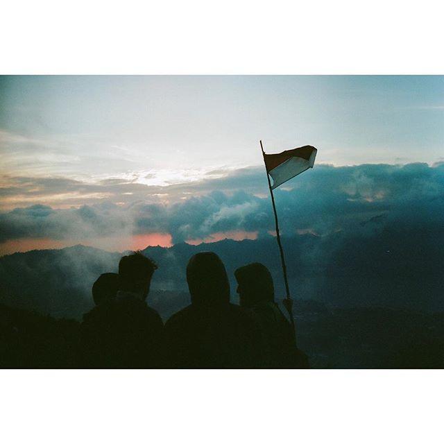 Top of Mt. Batur.