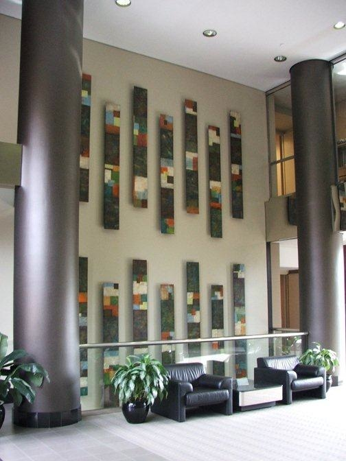 Tiersky-Columns-Install-Mixed-media-on-wood-12x96x3-each-panel.jpg