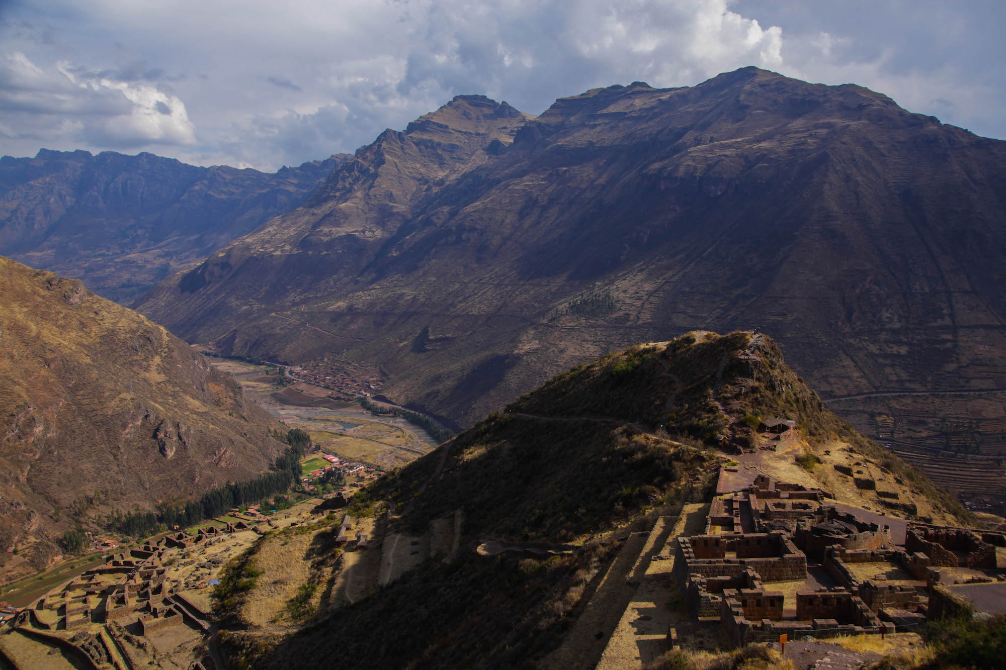 Pisac Ruins - the lower section