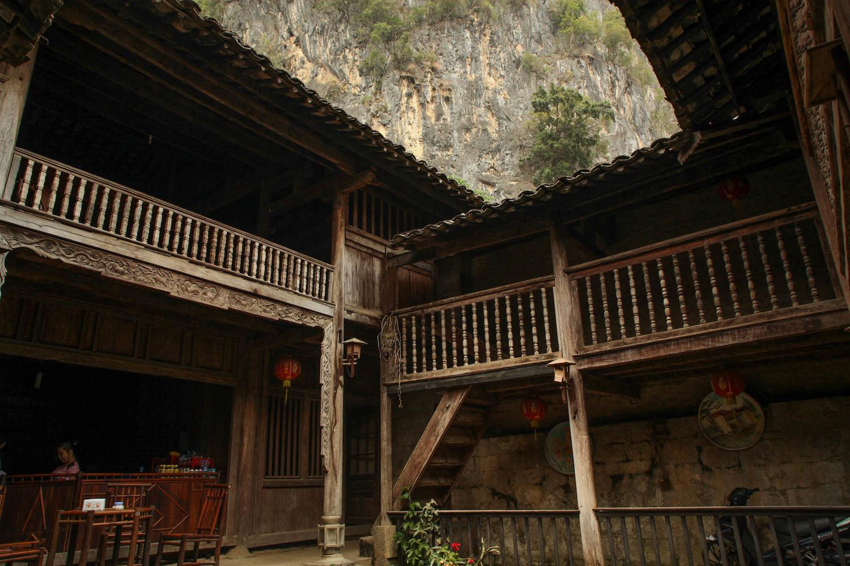 Old building in Dong Van