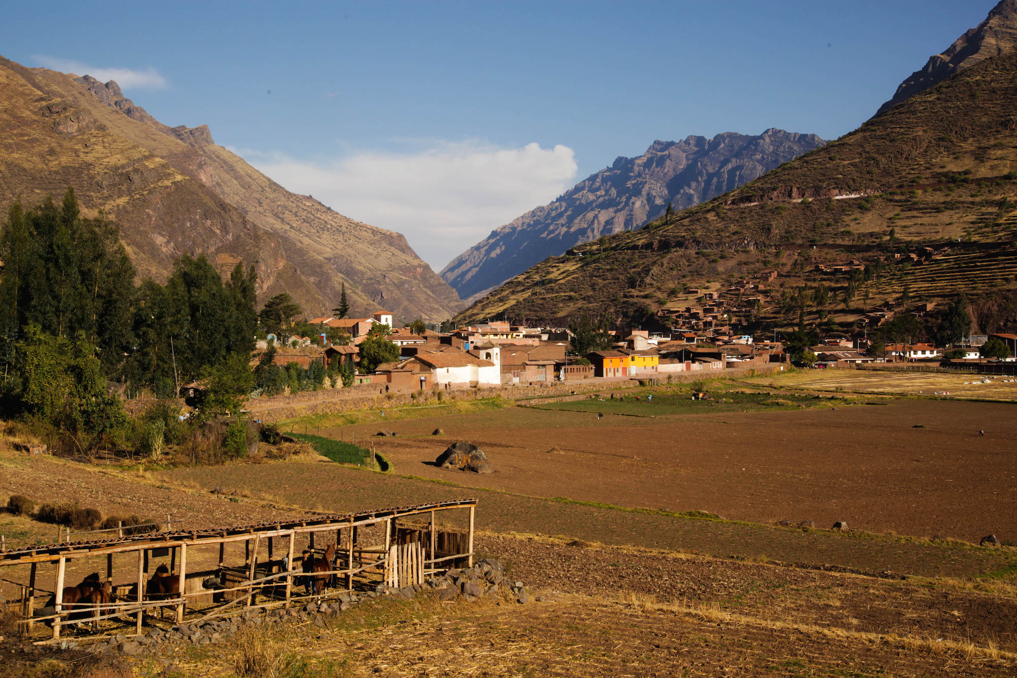 Pisac just outside town