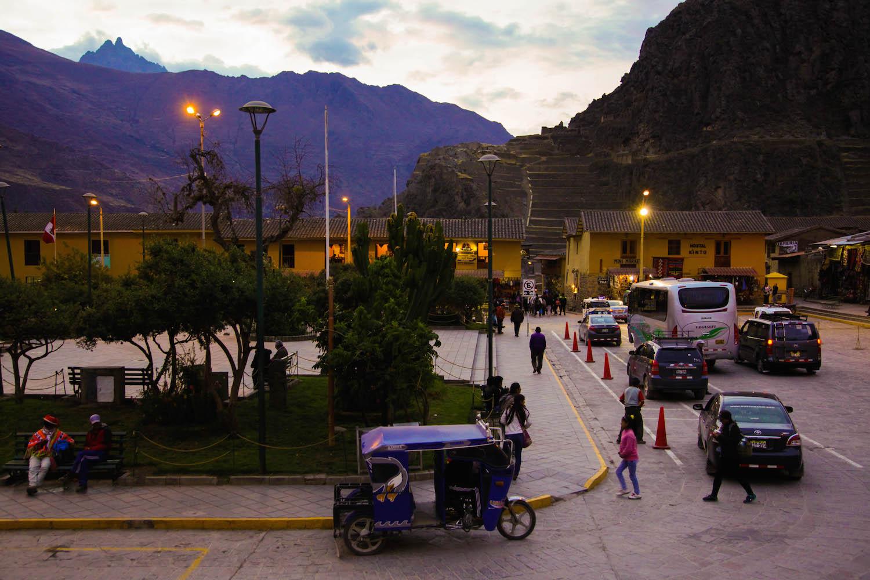 Ollantaytambo Plaza