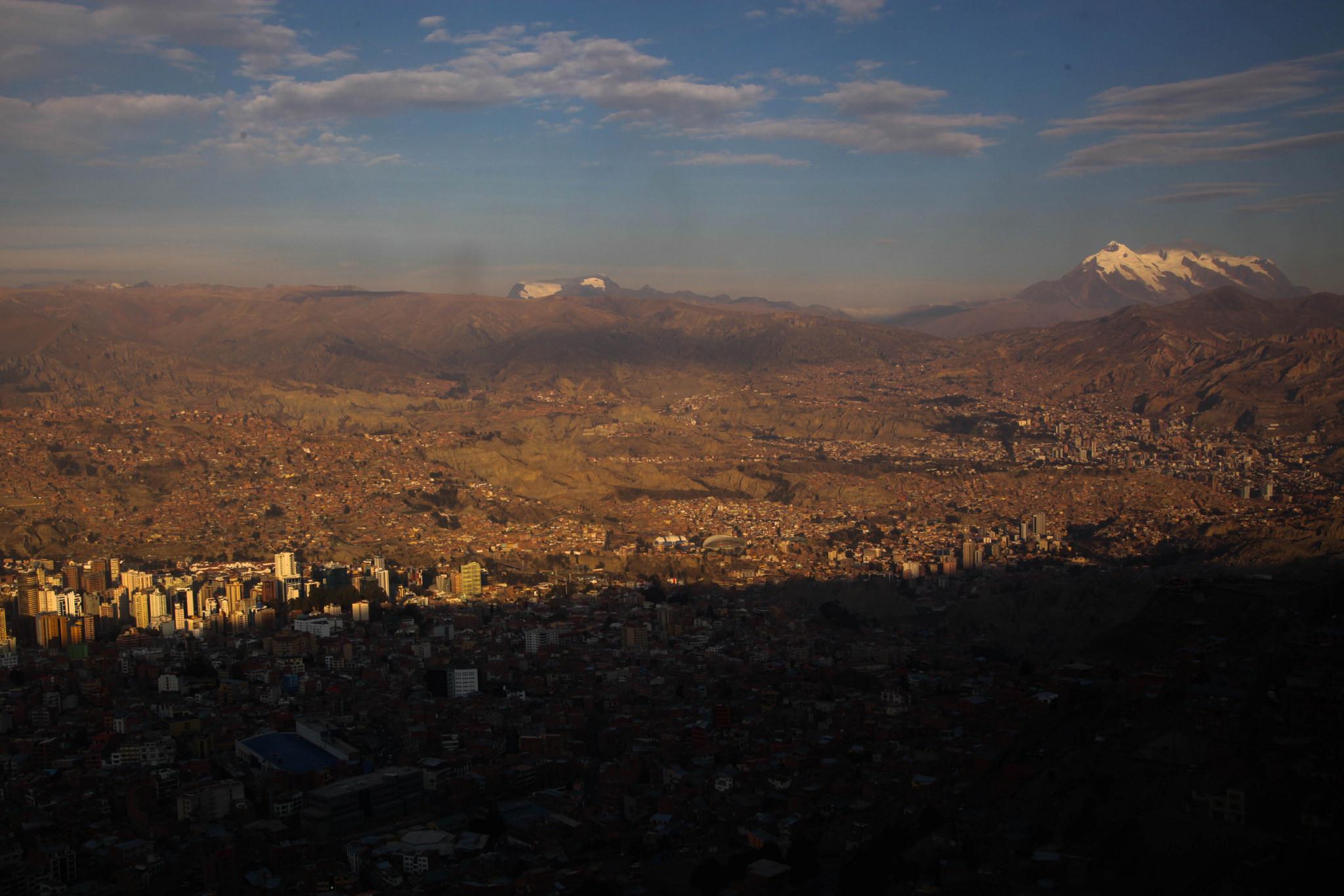 La Paz viewed from El Alto